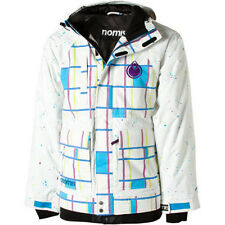Nomis Simon Signature Jacket Mens Snowboard Insulated Waterproof Plaid Coat XL