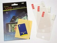 3x CLEAR PET Screen Protector for Apple iPhone 3G 3GS