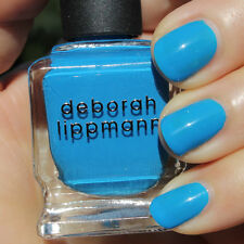 NEW! Deborah Lippmann VIDEO KILLED THE RADIO STAR Polish Lacquer Bright Blue Pop