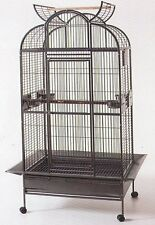 Large Bird Parrot Open PlayTop Cage Cockatiel Macaw Conure Aviary Finch 537