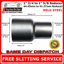 45mm to 42mm Mild Steel Standard Exhaust Reducer Connector Pipe Tube