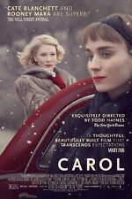 Carol - Cate Blanchett Rooney Mara Love USA Movie Wall Decor Poster 24x36 Inch 1