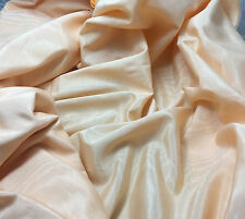 "Peach  Rayon/Acetate Moire Faille Fabric 50"" by the yard"