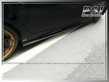 DP Type Carbon Fiber Side Skirts EXTENSIONS Add on Lip for 04-10 BMW E60 E61 M5
