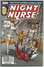 Night Nurse 1 Marvel Comics Giant issue based on 1970s series