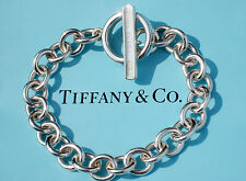Tiffany & Co Sterling Silver 1837 Toggle 7.5 Inch Bracelet