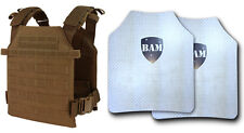 Level IIIA 3A Body Armor | ArmorCore | Bullet Proof Vest | Condor Sentry -COYOTE