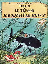 "20x30""Decoration Poster.Interior design studio.Tintin underwater.French.6304"
