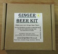 "Craft Ginger Beer Kit - ""Create your own homemade Ginger Beer"" Soft Drink"
