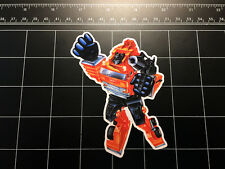Transformers G1 Grapple box art vinyl decal sticker Autobot toy 80s 1980's