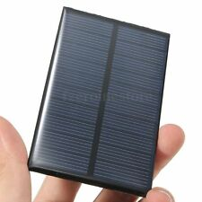 5V 1W 200mAh Mini Solar Panel Module System DIY For Light Battery Cell Charger