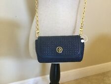 Tory Burch Bryant Quilted Small Cross-body, Hudson Bay, MSRP $250