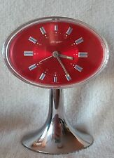 Rare Retro Jerger German Mantel Alarm Clock