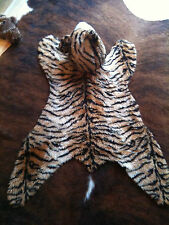 vintage 1980'S  children's tiger rug