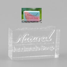 Nice Acrylic Natural Word Handmade Soap Stamping Stamp Seal Mold Mould