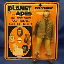 Peter Burke 2nd Issue Carded MOC Vintage 1974 Mego Planet of Apes POTA TV Show