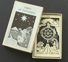 Vintage Tarot of Initiation Cards Deck by Emmett Brennan Limited Edition 1984