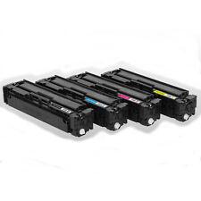 4PK 201X Toner Set CF400X CF401X CF402X CF403X CF400A   for HP201A M252 M277