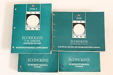 1998 Ford E-Series Econoline E-150 250 350 Van Service Shop Workshop Manual