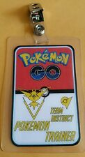 Pokemon Go ID Badge-Team Instinct Pokemon Trainer cosplay costume