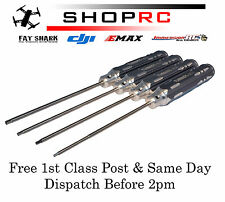 Turnigy Long Shaft Hex driver set RC Car Plane Heli Allen Key 1.5 2 2.5 3MM