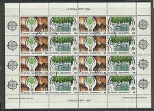 GRIECHENLAND/ CEPT 1986-Umweltschutz MiNr 1630/31 o Kleinbogen Ersttag