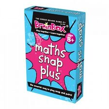 Educational Maths Snap Plus Numeracy Card Game for Children g22