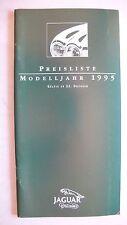 Preisliste Jaguar / Daimler - X 300, XJS, 10.1994, 36 Seiten, DIN A lang