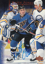 KEITH JONES CAPITALS AUTOGRAPH AUTO 95-96 UPPER DECK #451 *27370