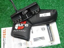 "CURE CX1 Black 34"" Putter with Headcover & Tool New"