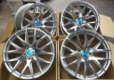 "18"" 3SDM 0.01 ALLOY WHEELS VW GOLF MK4 SEAT LEON AUDI TT A3 98-03 5X100"