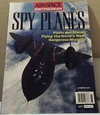 Air & Space Smithsonian SPY PLANES Pilots & Drones Flying World's Most Dangerous