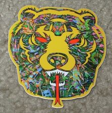 MISHKA NYC Popaganda Mosaic Death Adder Skate Sticker Ron English decal