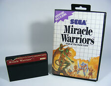 MIRACLE WARRIORS für Sega Master System - MS SMS Modul in OVP ohne Anleitung