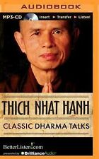 Classic Dharma Talks by Thich Nhat Hanh (2014, MP3 CD, Unabridged)