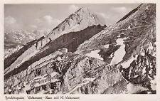 AK Berchtesgaden gel. 1950 Watzmann-Haus mit kl. Watzmann Pächter: E. Sprick