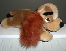 """Disney Store Lady And The Tramp Lady Cocker Spaniel Dog Plush Toy 12"""" Long BABY"""