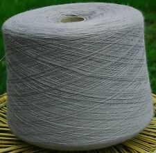 Knitting Machine Yarn Top Quality 3/30s 1.6 Kilos Acrylic Light Grey IND20.05
