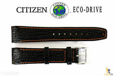 Citizen Eco-Drive BL5265-05E 21mm Black Leather Watch Band BL5269-04E BL5265-21E