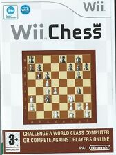 Wii CHESS=NINTENDO Wii=MINT CONDITION=BOARD GAME CLASSIC=FUN LEVELS=PLAY=SKILLS