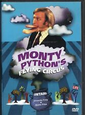 MONTY PYTHON'S FLYING CIRCUS~CRUNCHY FROG & EROTIC FILM~1999 A&E TV VG/C DVD