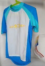 Seasons UV Solutions Boy's 50+SPF Swim Suit Surf Shirt Size 6  New with Tags !!!