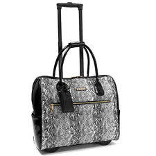 "Cabrelli Vicky Viper Rolling 15"" Laptop  Brief Case Women's Bag Wheeled 716006U"