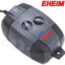 Eheim Adjustable Air Pump 400 l/hr 4W Watt Dual Outlet with Diffusers
