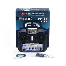 Portable 1pc 2.4G Remote Control Transmitter+A6 Receiver 4CH For RC Flysky FS-i4