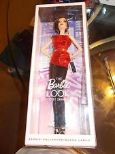 The Barbie LOOK City Shine Model Doll, Black Label, Collector,Red/Black Outfit