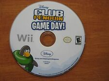 DISNEY CLUB PENGUIN - GAME DAY - WII GAME