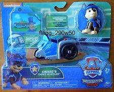 *Paw Patrol* 2017 CHASE'S THREE WHEELER with MISSION PAW CHASE FIGURE