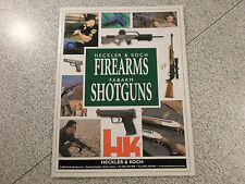 Heckler & Koch Firearms Fabarm Shotguns 2001 Catalog