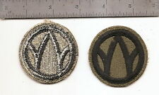#P60 US ARMY  89TH DIVISION PATCH